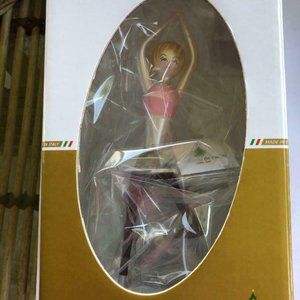 De Carlini Michelle Standing Yoga Xmas Ornament
